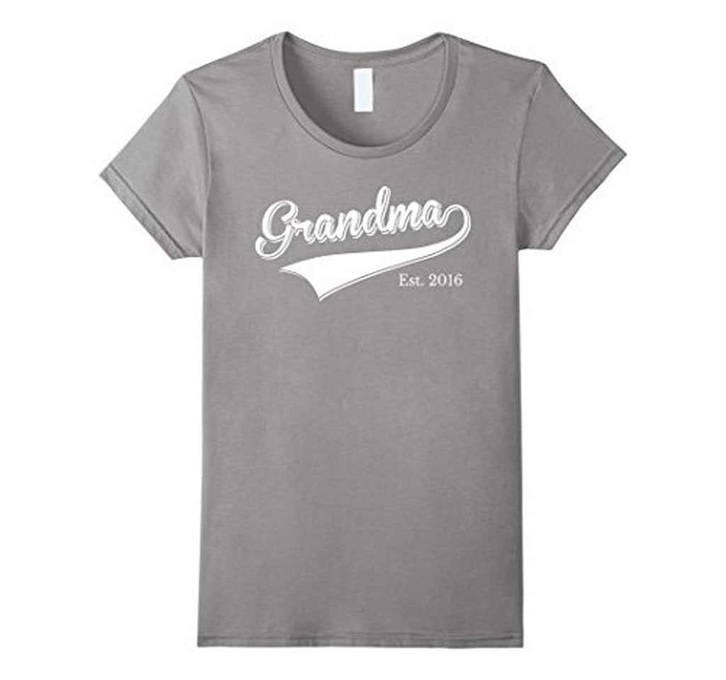 Grandma Est 2016 T Mother Day Gift for New Grandma T-shirt  T-Shirt BelDisegno