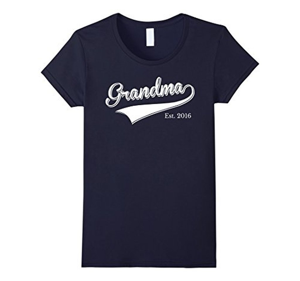 Grandma Est 2016 T Mother Day Gift for New Grandma T-shirt 2XL / Navy T-Shirt BelDisegno