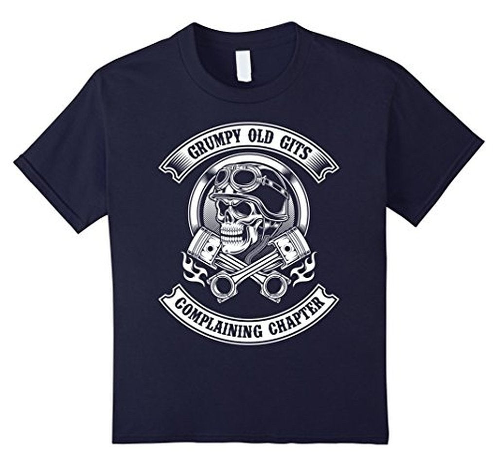 Grumpy Old Gits Club Funny grumpy old saying Tee T-shirt Navy / 3XL T-Shirt BelDisegno