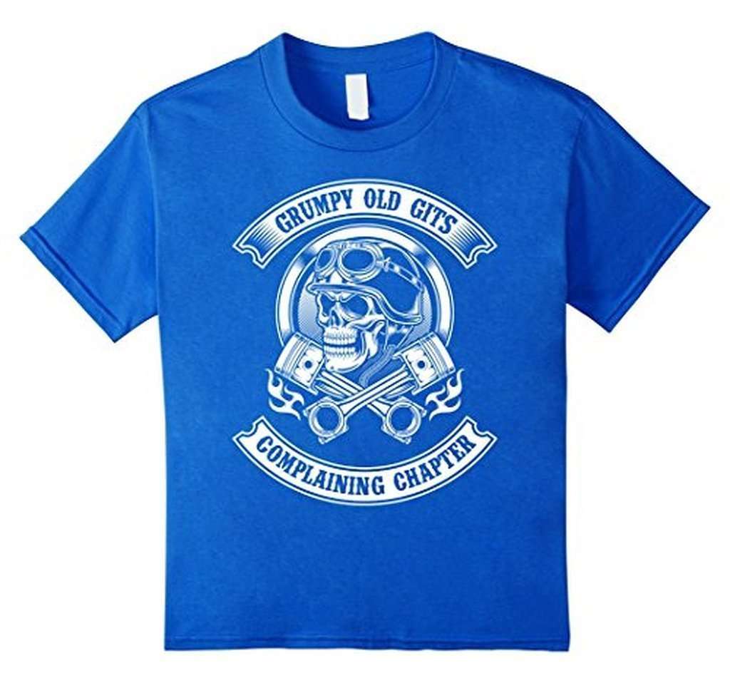 Grumpy Old Gits Club Funny grumpy old saying Tee T-shirt Royal Blue / 3XL T-Shirt BelDisegno