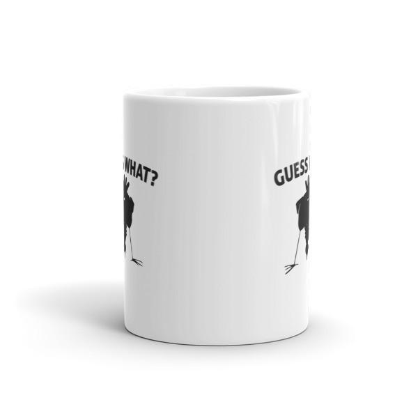 Guess What? Chicken Butt Graphic Coffee Mug  Mug BelDisegno