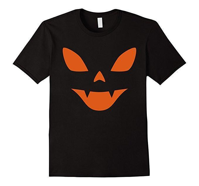 Halloween PUMPKIN Halloween Costume T-shirt Black / XL / Women T-Shirt BelDisegno