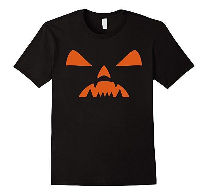 Halloween PUMPKIN T-shirt Black / XL / Women T-Shirt BelDisegno