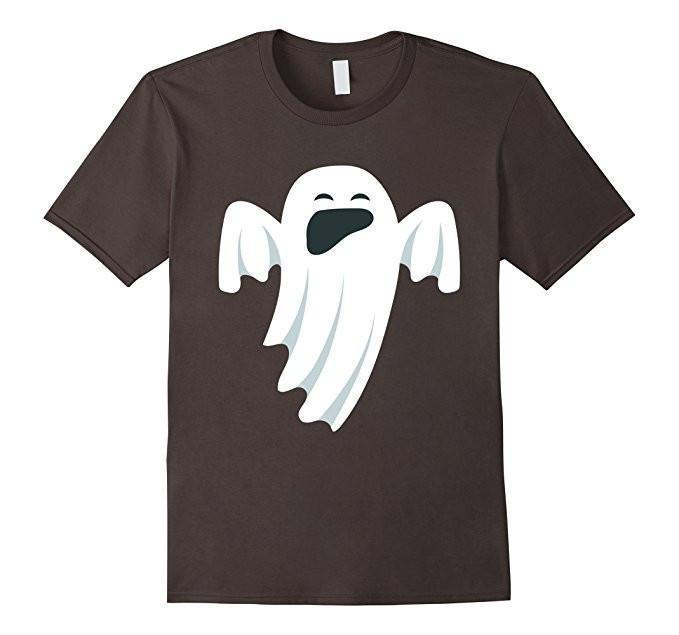 Halloween Scary Ghost Face Halloween Costume T-shirt Asphalt / XL / Women T-Shirt BelDisegno