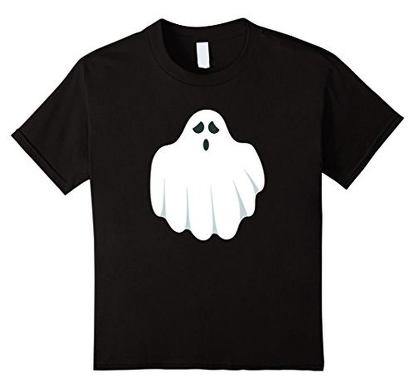 Halloween Scary Ghost Face Halloween Costume T-shirt Black / 3XL T-Shirt BelDisegno