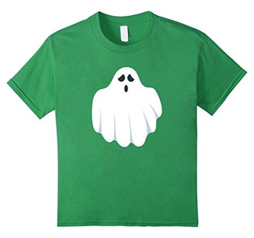 Halloween Scary Ghost Face Halloween Costume T-shirt Green / 3XL T-Shirt BelDisegno