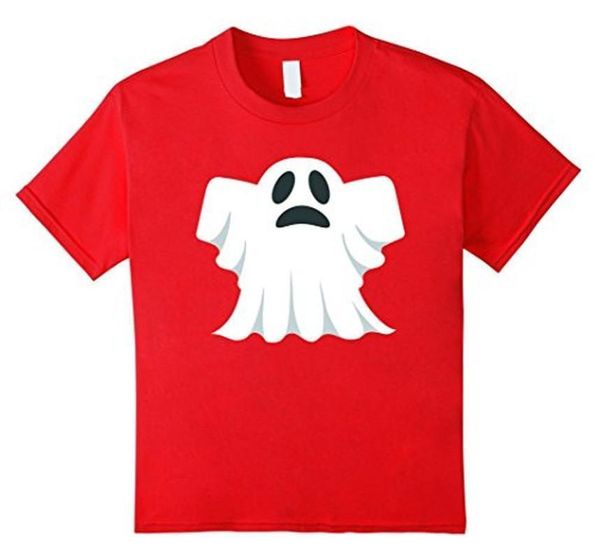 Halloween Scary Ghost Face Halloween Costume T-shirt Red / 3XL T-Shirt BelDisegno