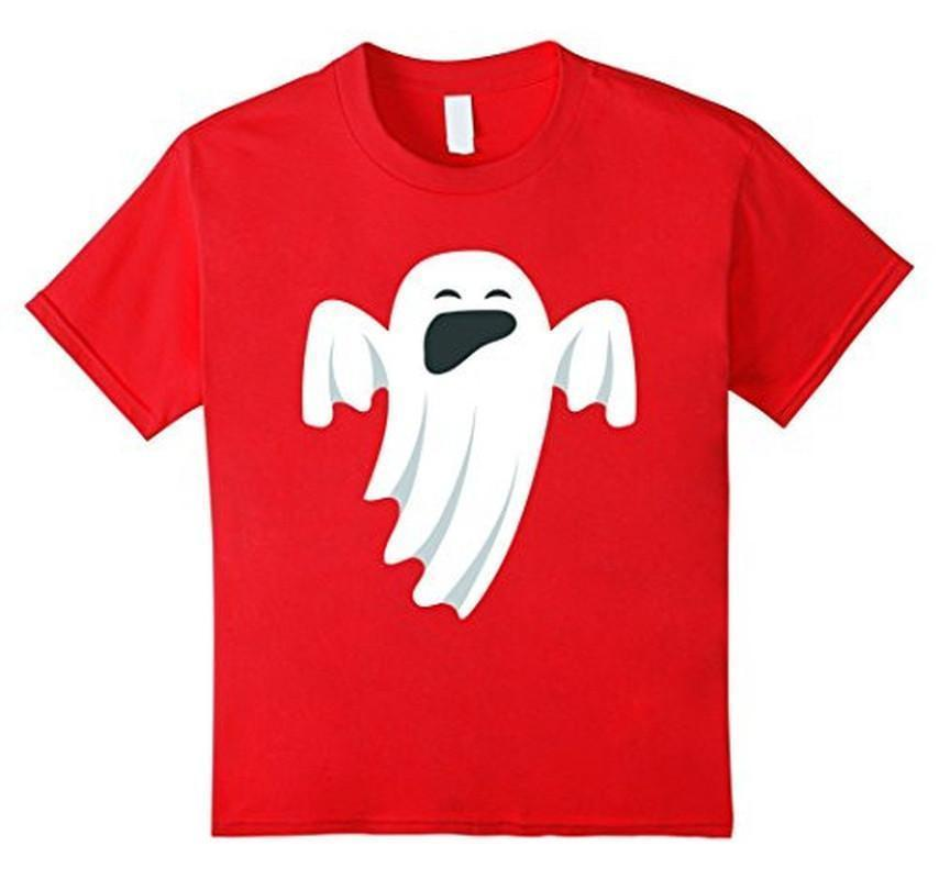 Halloween Scary Ghost Face Halloween Costume T-shirt Red / XL / Women T-Shirt BelDisegno
