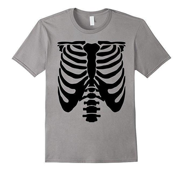 Halloween Skeleton T-shirt Heather Grey / XL / Women T-Shirt BelDisegno