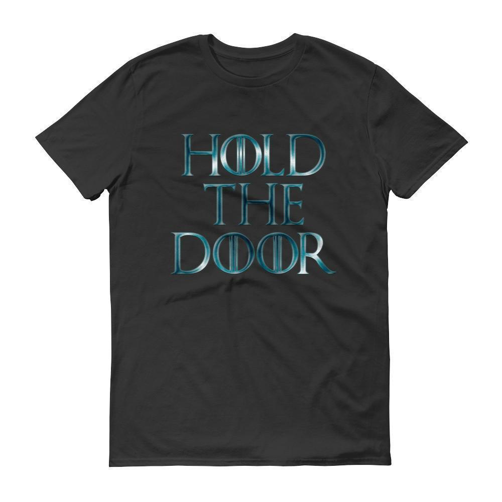 Hold The Door HODOR T-shirt Black / 3XL T-Shirt BelDisegno