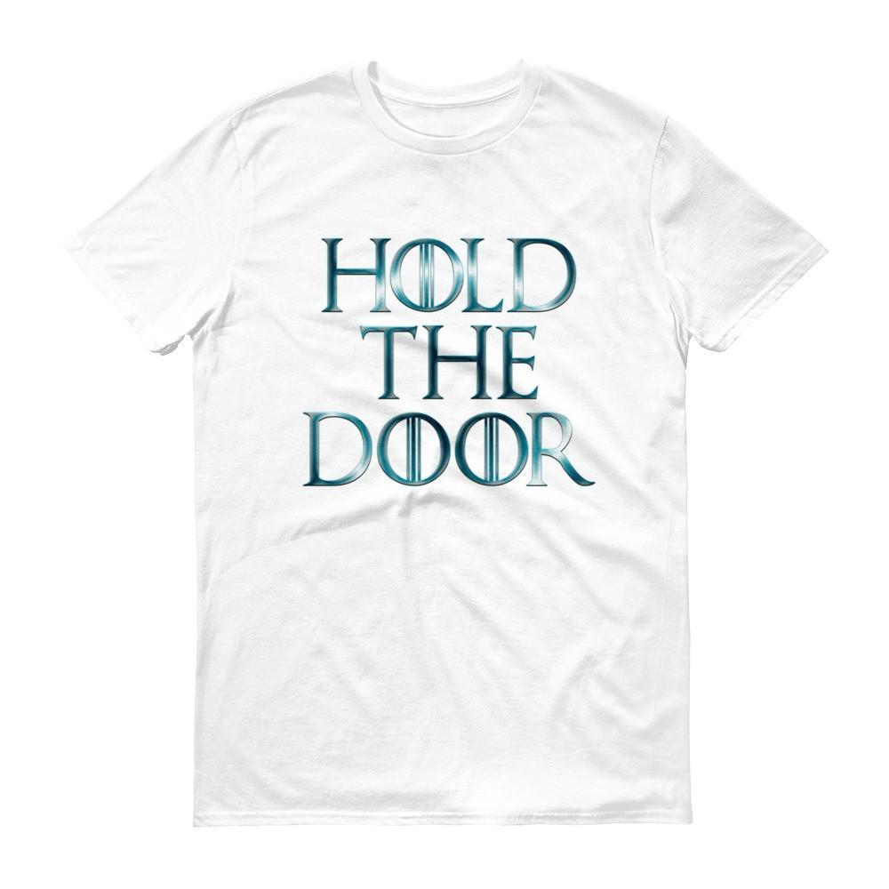 Hold The Door HODOR T-shirt White / 3XL T-Shirt BelDisegno