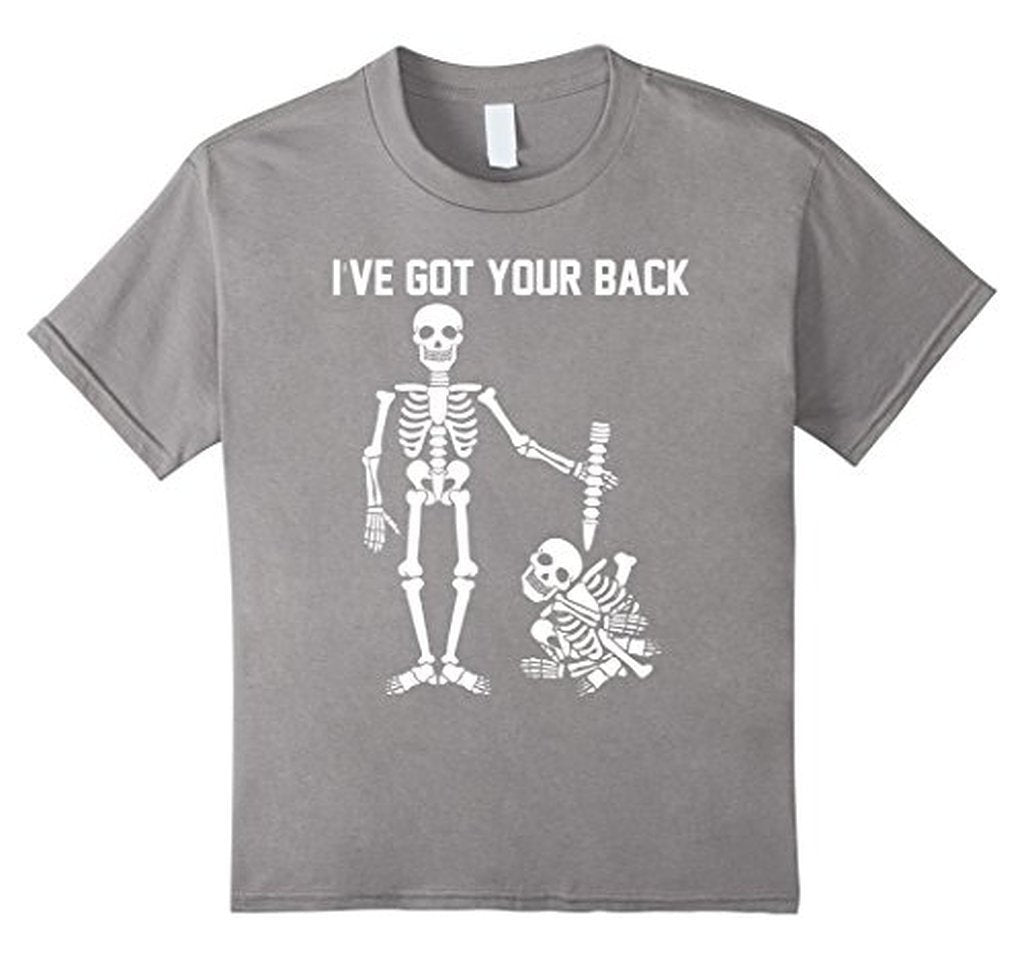 I Got Your Back Funny Stick Figures s T-shirt Heather Grey / 3XL T-Shirt BelDisegno