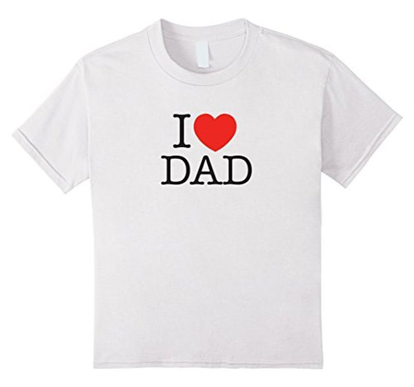 I Love Dad Birthday Gifts Father's day Gift T-shirt  T-Shirt BelDisegno