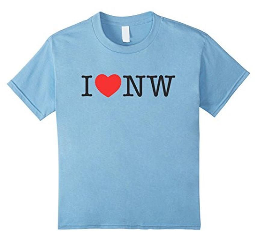 I Love Nasty Woman T-shirt Baby Blue / XL / Women T-Shirt BelDisegno