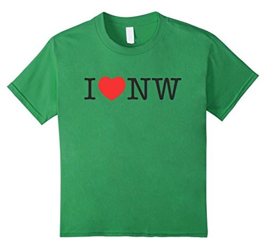 I Love Nasty Woman T-shirt Green / XL / Women T-Shirt BelDisegno