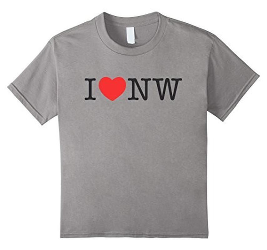 I Love Nasty Woman T-shirt Heather Grey / XL / Women T-Shirt BelDisegno