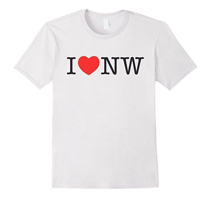 I Love Nasty Woman T-shirt White / XL / Women T-Shirt BelDisegno