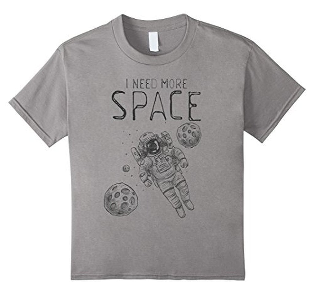 I Need More Space Funny saying t T-shirt Heather Grey / XL / Women T-Shirt BelDisegno
