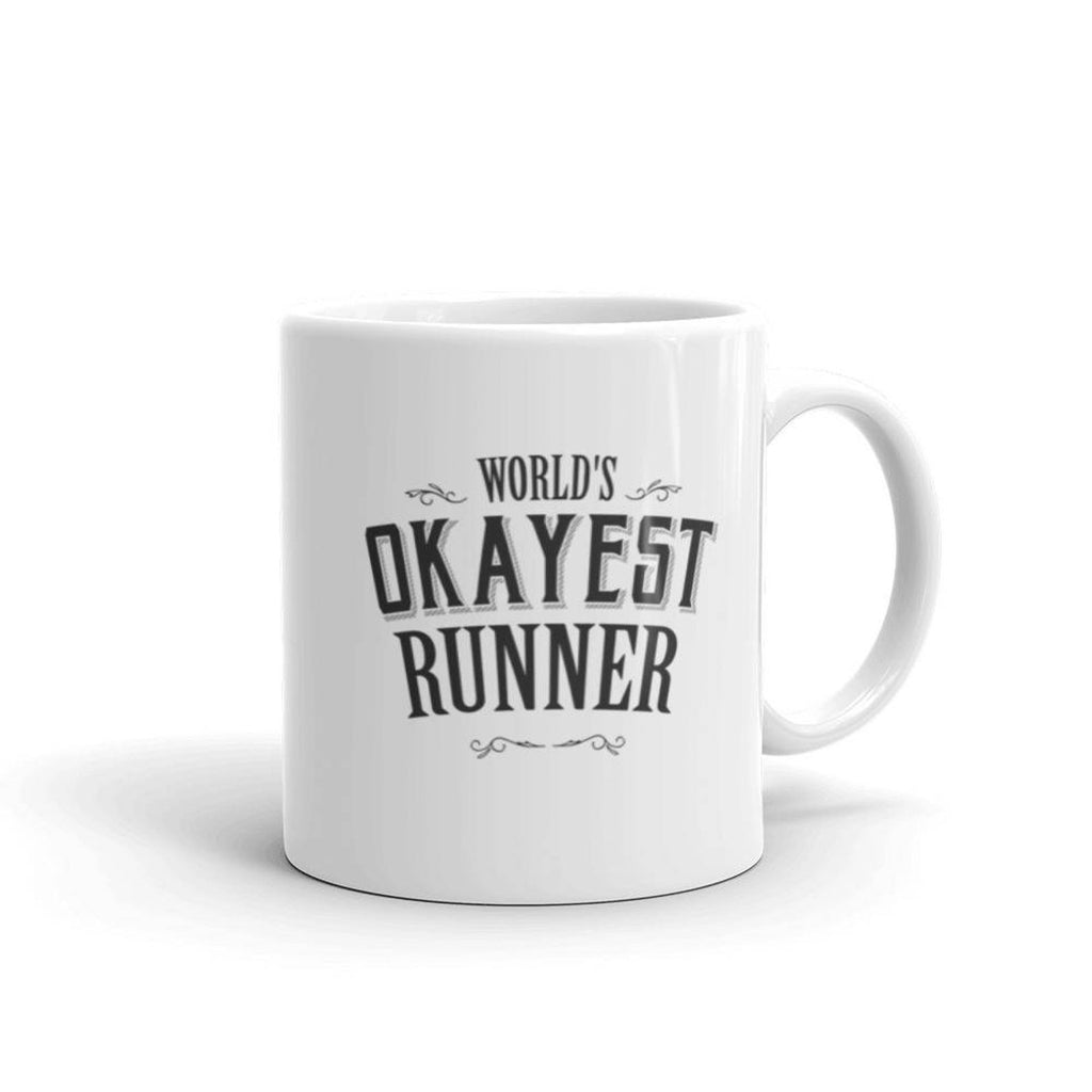 World's Okayest Runner Coffee Mug