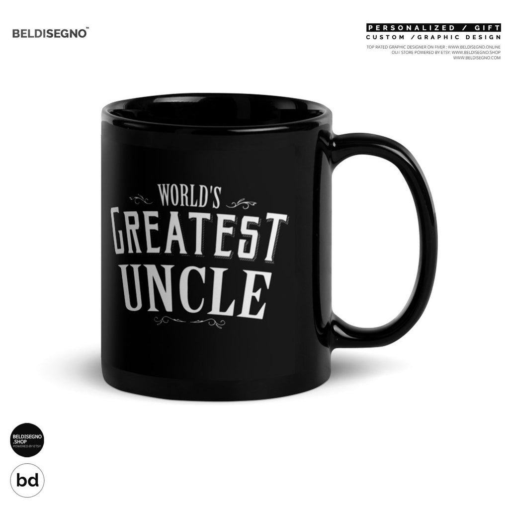 Gift for Uncle Mug World's Greatest Uncle Coffee Mug