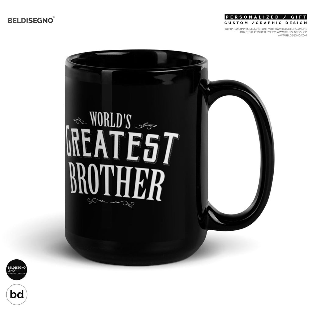 Gift for Brother Mug, World's Greatest Brother Coffee Mug