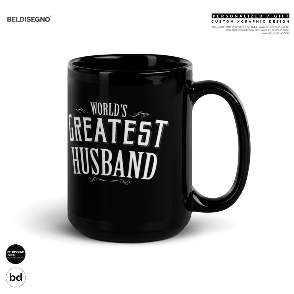 Gift for Husband Mug World's Greatest Husband Coffee Mug