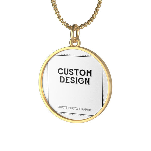 Personalized Single Loop Necklace   BelDisegno