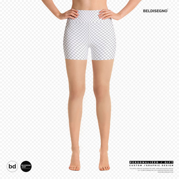 Personalized Yoga Shorts - Custom Shorts for Yoga   BelDisegno