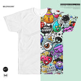 Custom All-Over Cut & Sew Men's T-shirt -Personalized Printed T-Shirt - Custom Sublimation T-Shirt - custom dog picture shirt   BelDisegno