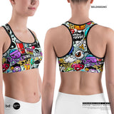 Personalized Sports bra - Custom Bra   BelDisegno