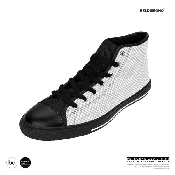 High Top Sneakers for Men | Personalized Men'S HighTop Sneakers - Custom Design sneakers - hi tops Sneakers shoes for men events festivals   BelDisegno