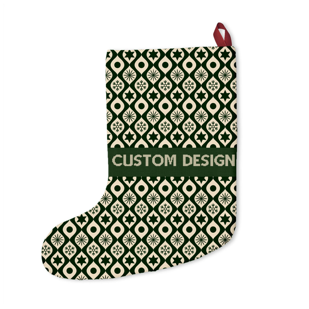 Custom Christmas Stockings | Customize With your photo - Logo - Graphic custom text quote Size: Onesize