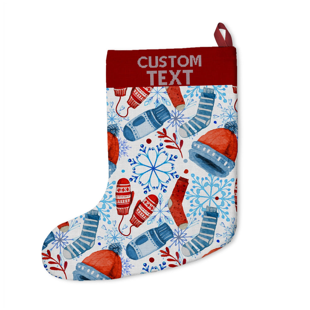 Custom Christmas Stockings | Customize With your photo - Logo - Graphic custom text quote   BelDisegno