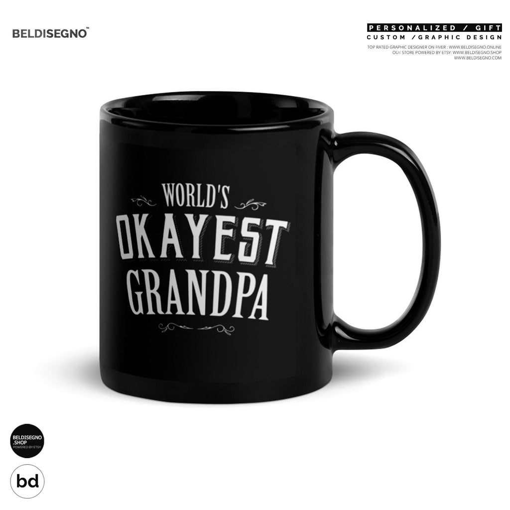 World's Okayest Grandpa Coffee Mug