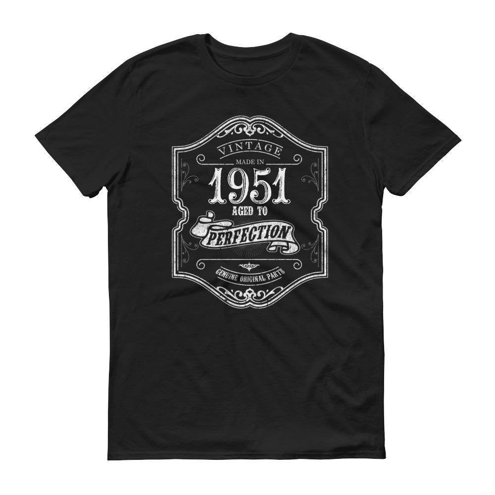 1951 Birthday Gift, Vintage Born in 1951 t-shirt for men, 69th Birthday, Made in 1951 T-shirt, 69 Year Old Birthday Shirt - 1951 Collection