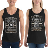 1933 Birthday Gift, Vintage Born in 1933 Tank tops for Women men, 87th Birthday shirt for him her, Made in 1933  Tanks, 87 Year Old Birthday Size: XSDesign: #3Color: Black