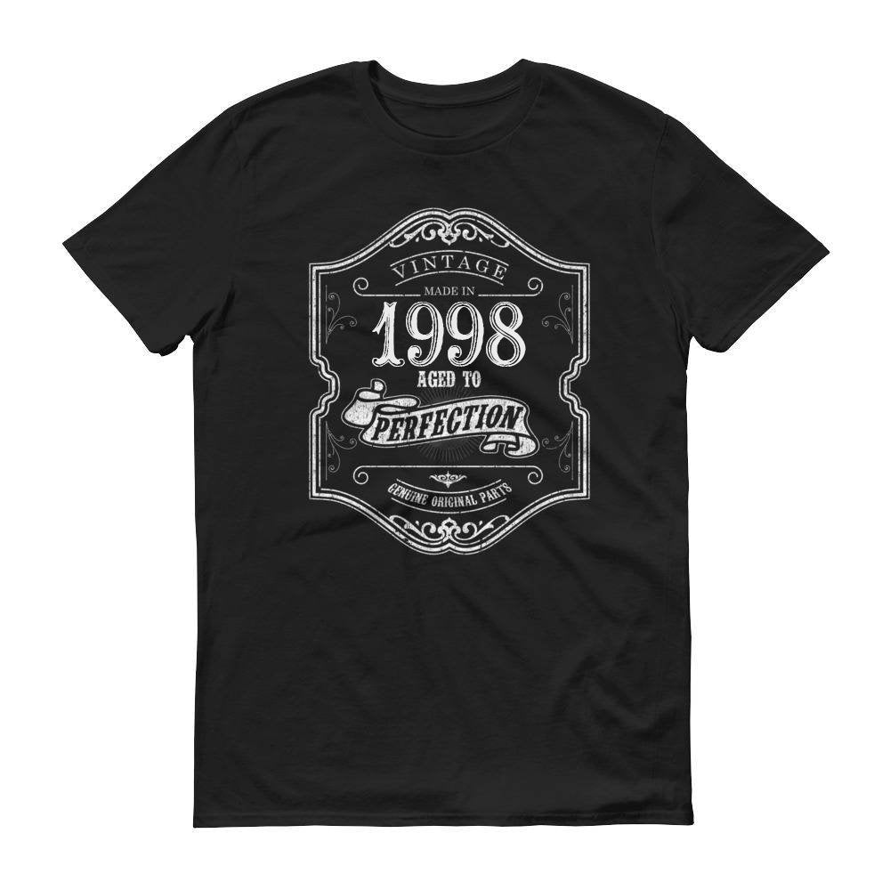 1998 Birthday Gift, Vintage Born in 1998, 22nd Birthday shirt for him Her, Made in 1998 T-shirt, 22 Birthday for Men Women
