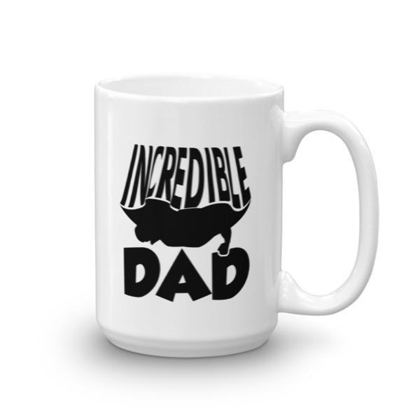 Incredible Dad Coffee Mug 15oz Mug BelDisegno