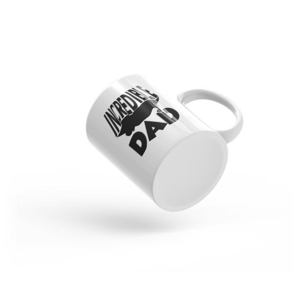 Incredible Dad Coffee Mug  Mug BelDisegno