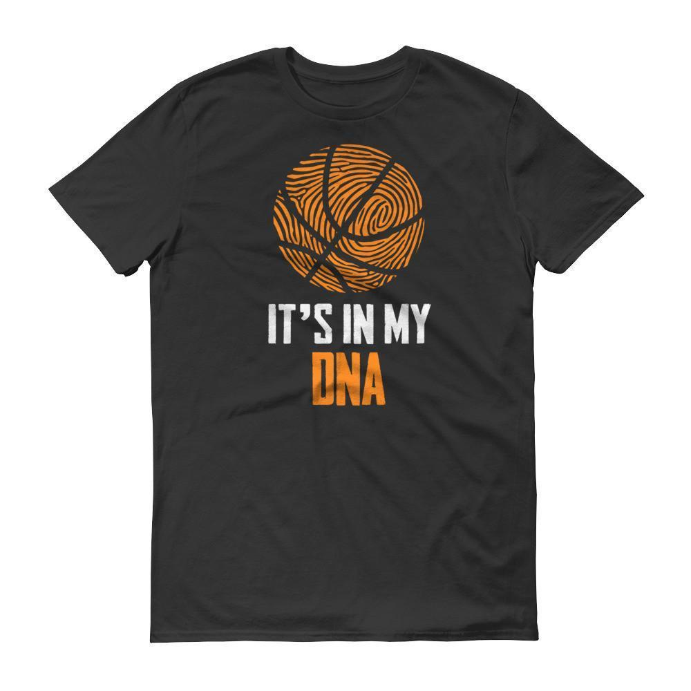 It Is In My DNA Fingerprint Basketball Funny T-shirt Black / 3XL / Men T-Shirt BelDisegno
