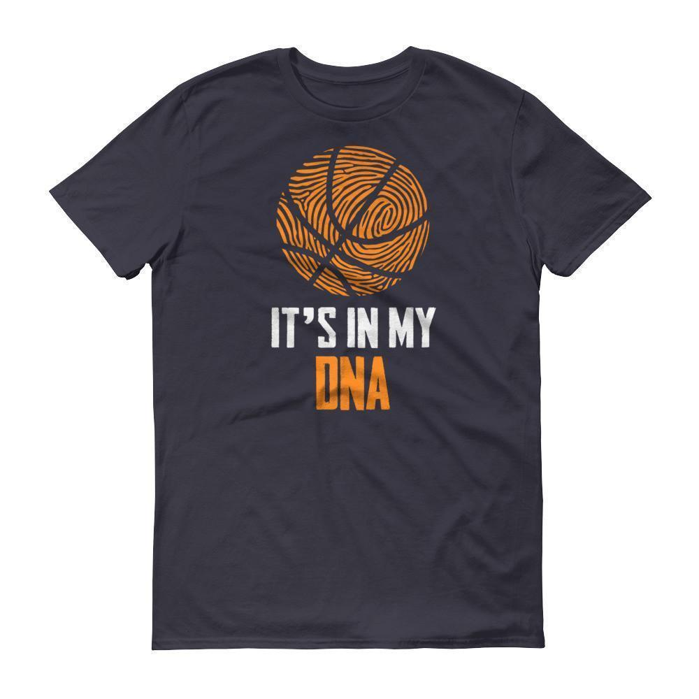 It Is In My DNA Fingerprint Basketball Funny T-shirt Navy / 3XL / Men T-Shirt BelDisegno