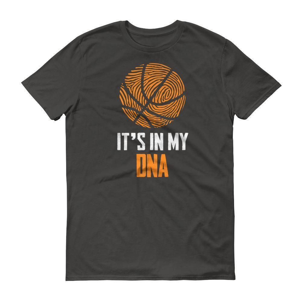 It Is In My DNA Fingerprint Basketball Funny T-shirt Smoke / 3XL / Men T-Shirt BelDisegno