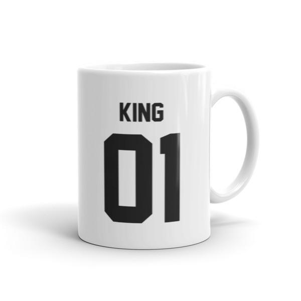 King 01 Coffee Mug 11oz Mug BelDisegno