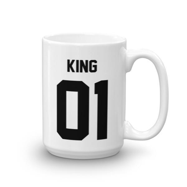 King 01 Coffee Mug 15oz Mug BelDisegno
