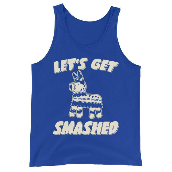 Let's get smashed Tank Top True Royal / 2XL Tank Top BelDisegno