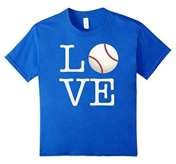 Love Baseball ball T-shirt Royal Blue / 3XL T-Shirt BelDisegno