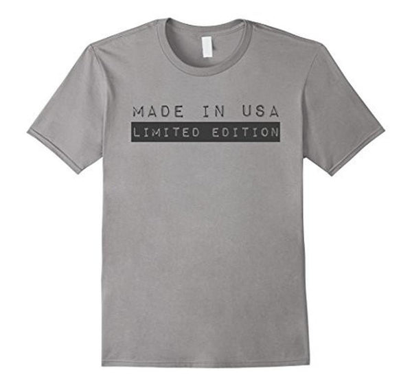 MADE IN USA Limited Edition TShirt-T-Shirt-BelDisegno-Heather Grey-S-BelDisegno