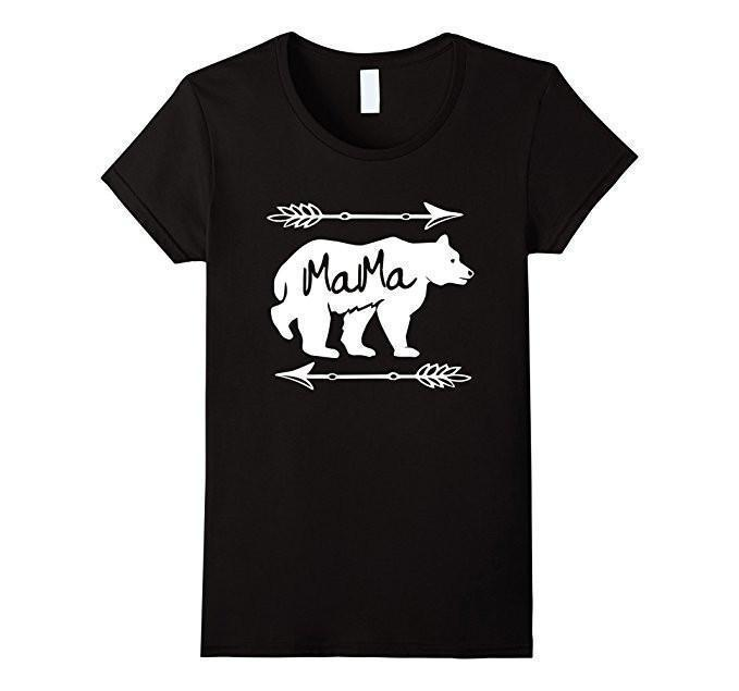 Mama Bear T-shirt - Mom gift t-shirt for mother's day  T-Shirt BelDisegno