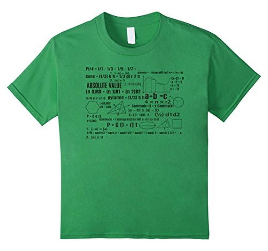 Math Equation Cool Nerd T-shirt Grass / 3XL T-Shirt BelDisegno