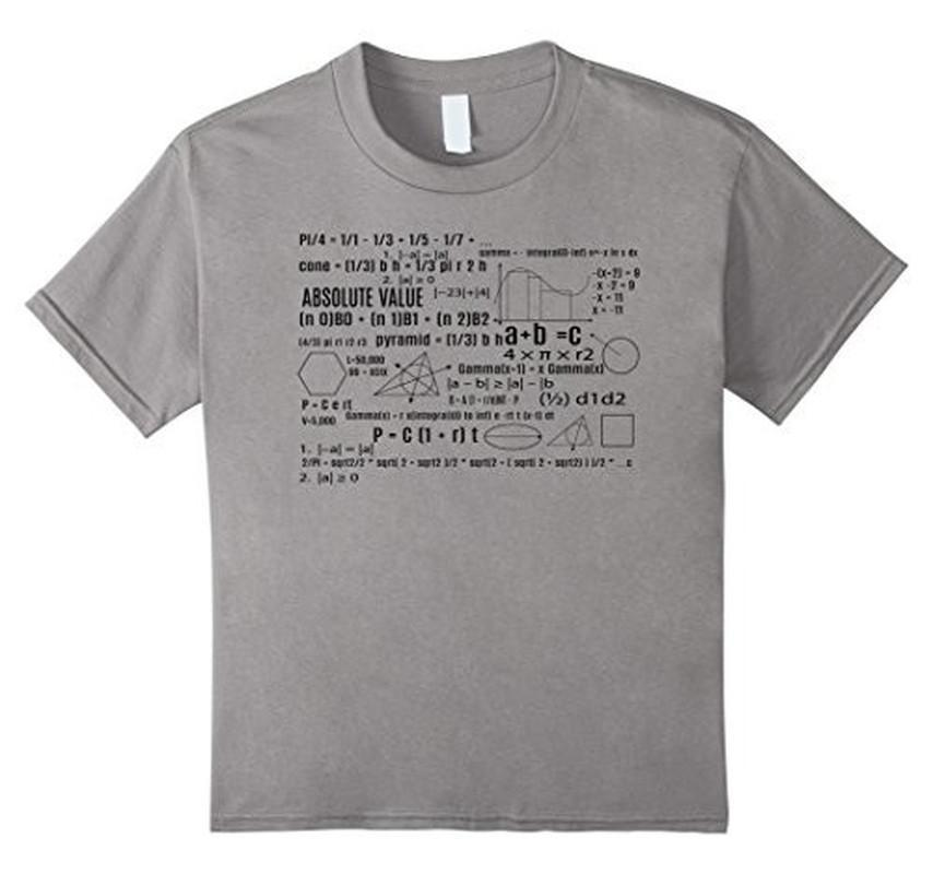 Math Equation Cool Nerd T-shirt Heather Grey / 3XL T-Shirt BelDisegno